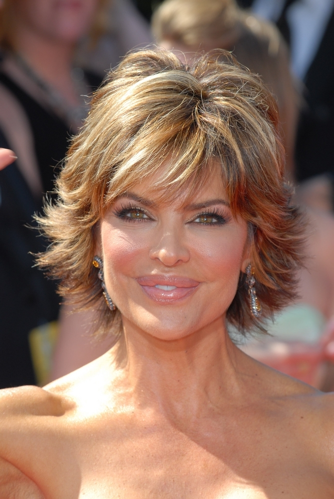 Lisa Rinna's Hot Shag Hairstyle