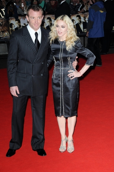 Guy Ritchie and Madonna at RocknRolla in London