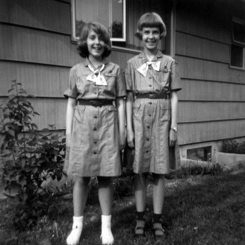 1950's Girl Scouts