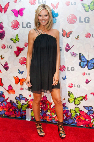 Heidi Klum at Rumorous Night Launch Party