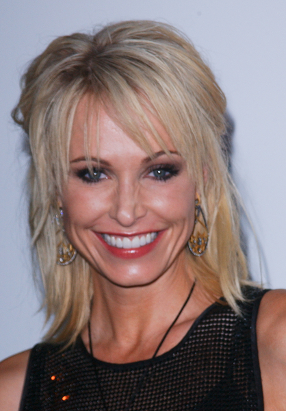 Josie Bissett With Mid Length Blonde Layers