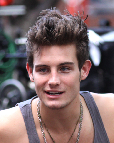 Nico Tortorella With Thick Tall Crew Cut