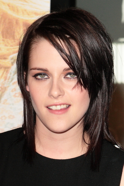Kristen Stewart Bangs Hairstyles for Short Fine Hair