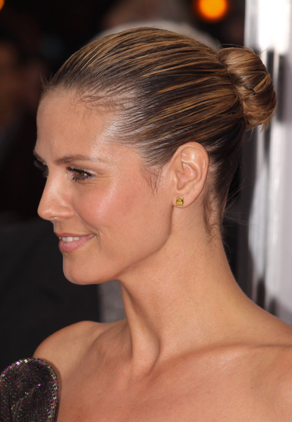 heidi klum updo for short hair