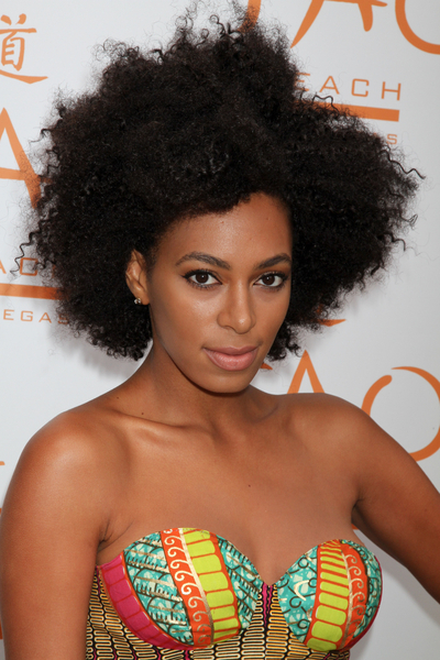 Wild Natural Hair Styles Solange Knowles Wild Natural Hair