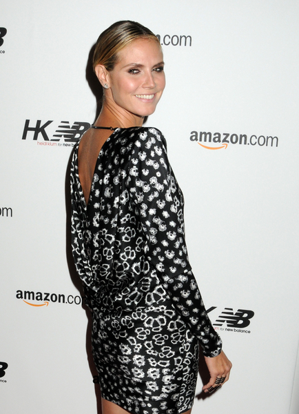 heidi klum updo hair. Heidi Klum Tight Updo