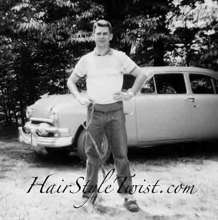 1950s Men S Hairstyle And Clothes
