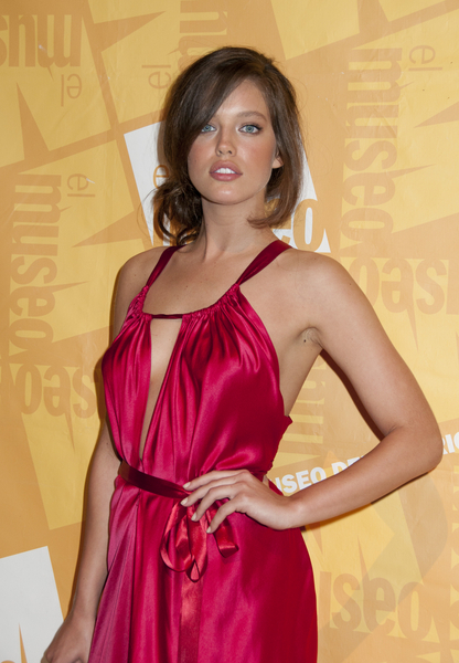 Great job turning long hair into a faux bob by Emily DiDonato at 2011 ...