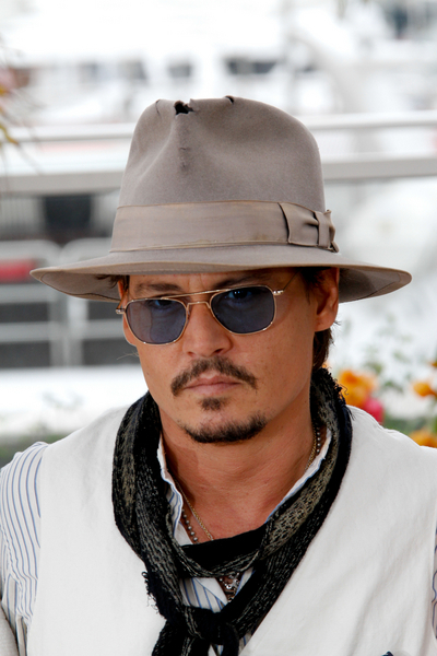 Johnny Depp with Top Hat 8d89f009607