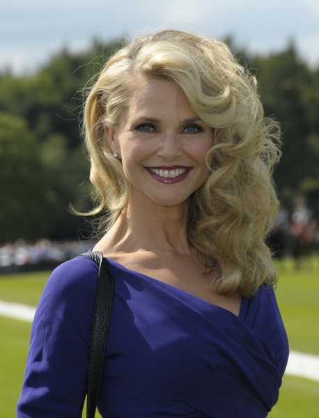 Christie Brinkley Full And Curly Hair