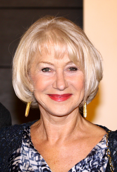 This haircut worn by Helen Mirren, who looks fabulous at 66 years of ...