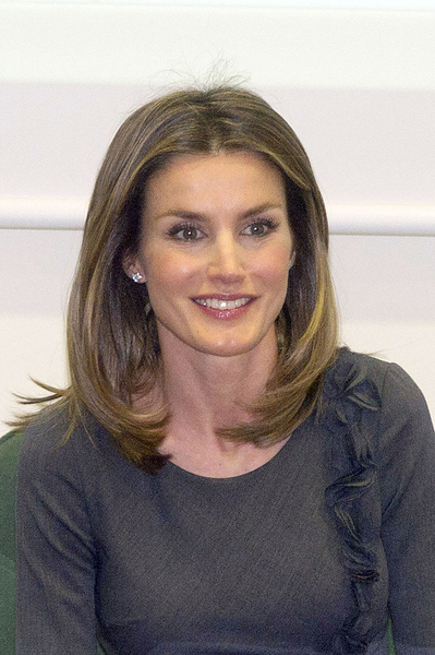 Princess Letizia Oritiz of Spain