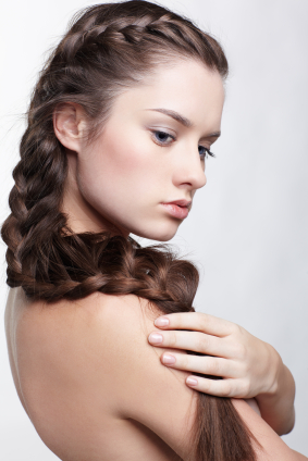 Long French Braid
