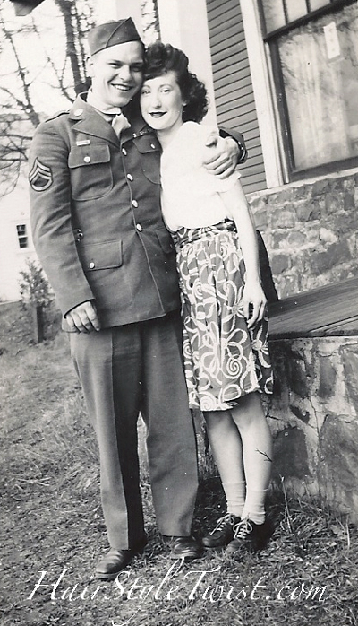 1940's WWII couple
