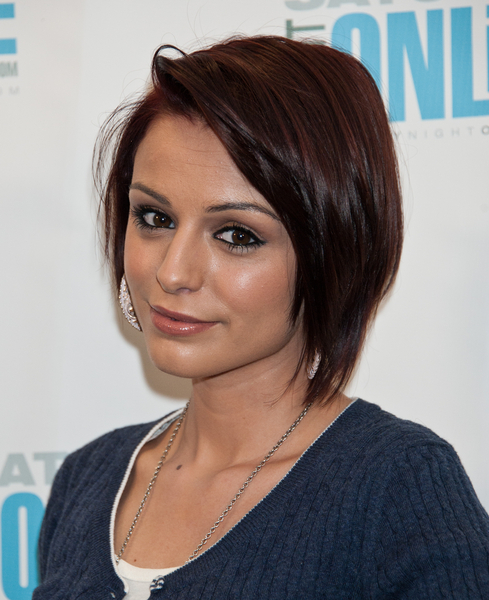 Cher Lloyd Graduated Layered Bob