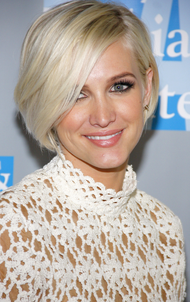 Ashlee Simpson Short Blonde Bob
