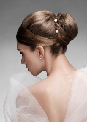 Beautiful Bridal Bun