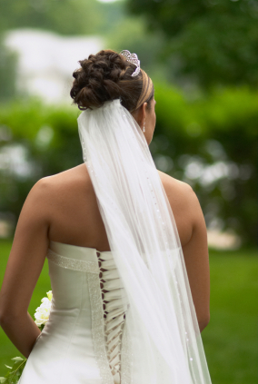 Back View Bride