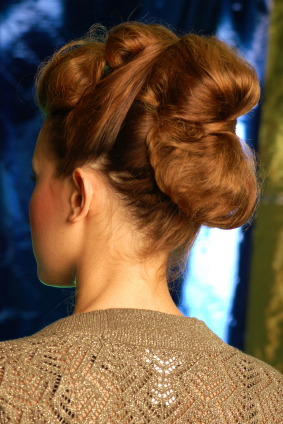 Vintage Twisted Updo