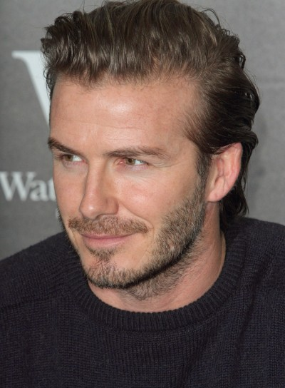 """David Beckham"" Book Signing at Waterstone's in London on December 19, 2013"