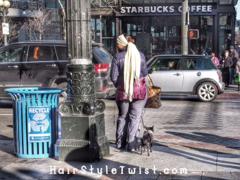 Recycle, Starbucks, Dog Walking