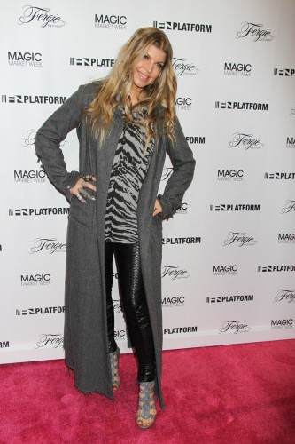 "MAGIC Marketplace Spring Show 2014 - Day 2 - ""Fergie Footwear"" Photocall"