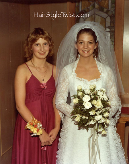 bride and guest book girl