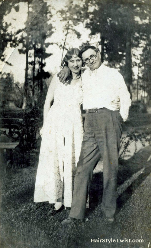 1930's Father and Daughter