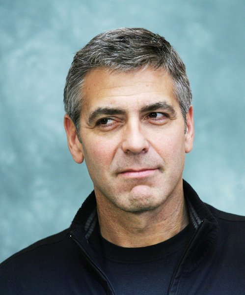 George Clooney With Salt And Pepper Hair