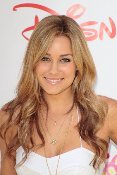 lauren conrad hair. Lauren Conrad wears casual