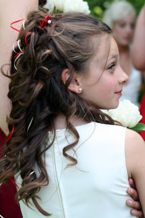 young girls party hairstyles